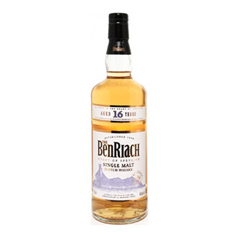 BenRiach 16 yo  700ml   43% vol