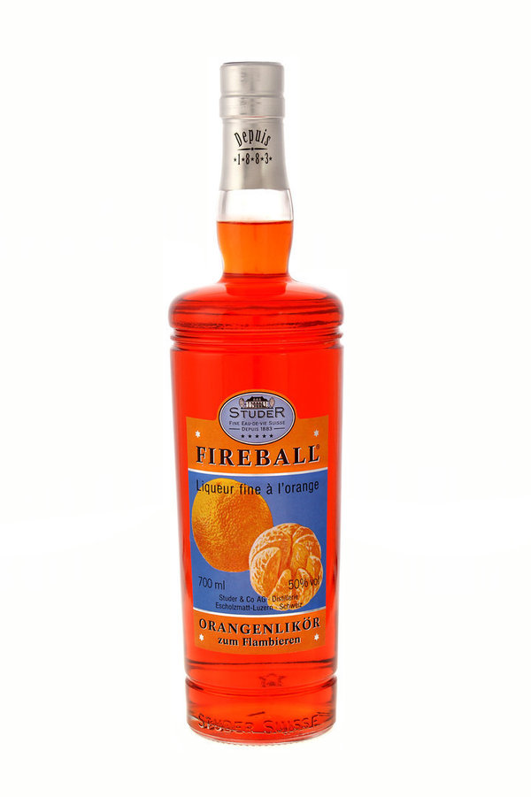 Fireball - Liqueur fine à l'orange 50% 70cl