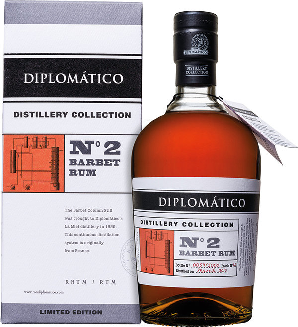 Diplomatico Distillery Collection No2 Barbet Still