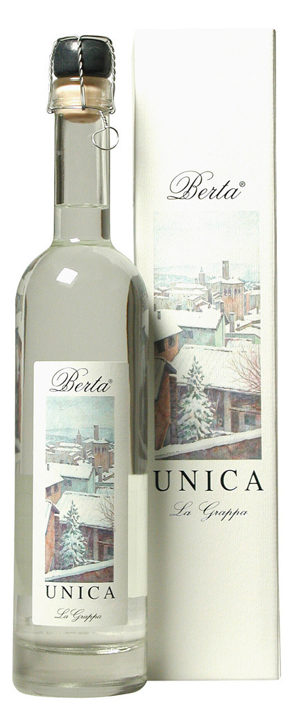 Grappa Berta Unica 50cl 43%vol.