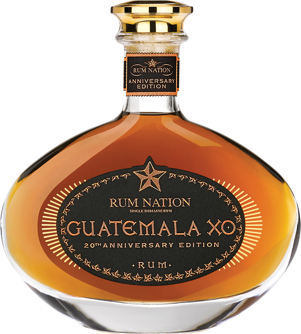 Rum Nation Guatemala XO 20th Anniversary 70cl / 40%vol.